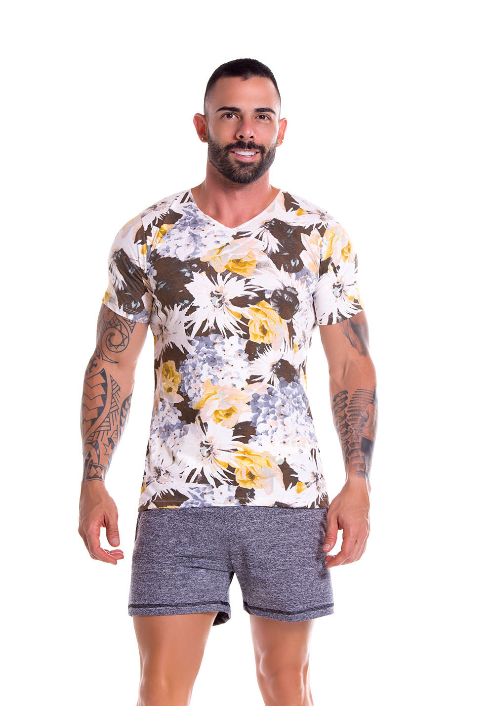 JOR 0904 Garden Grey T-Shirt