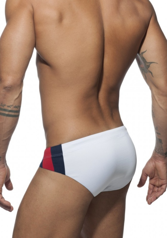 ADDICTED Stripes Basic Swim Brief