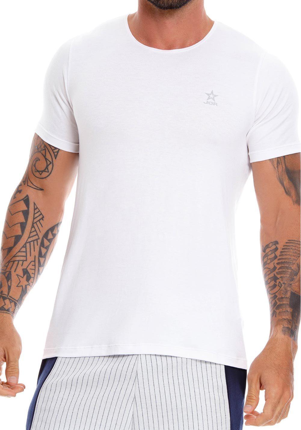 JOR T-Shirt Cross | White