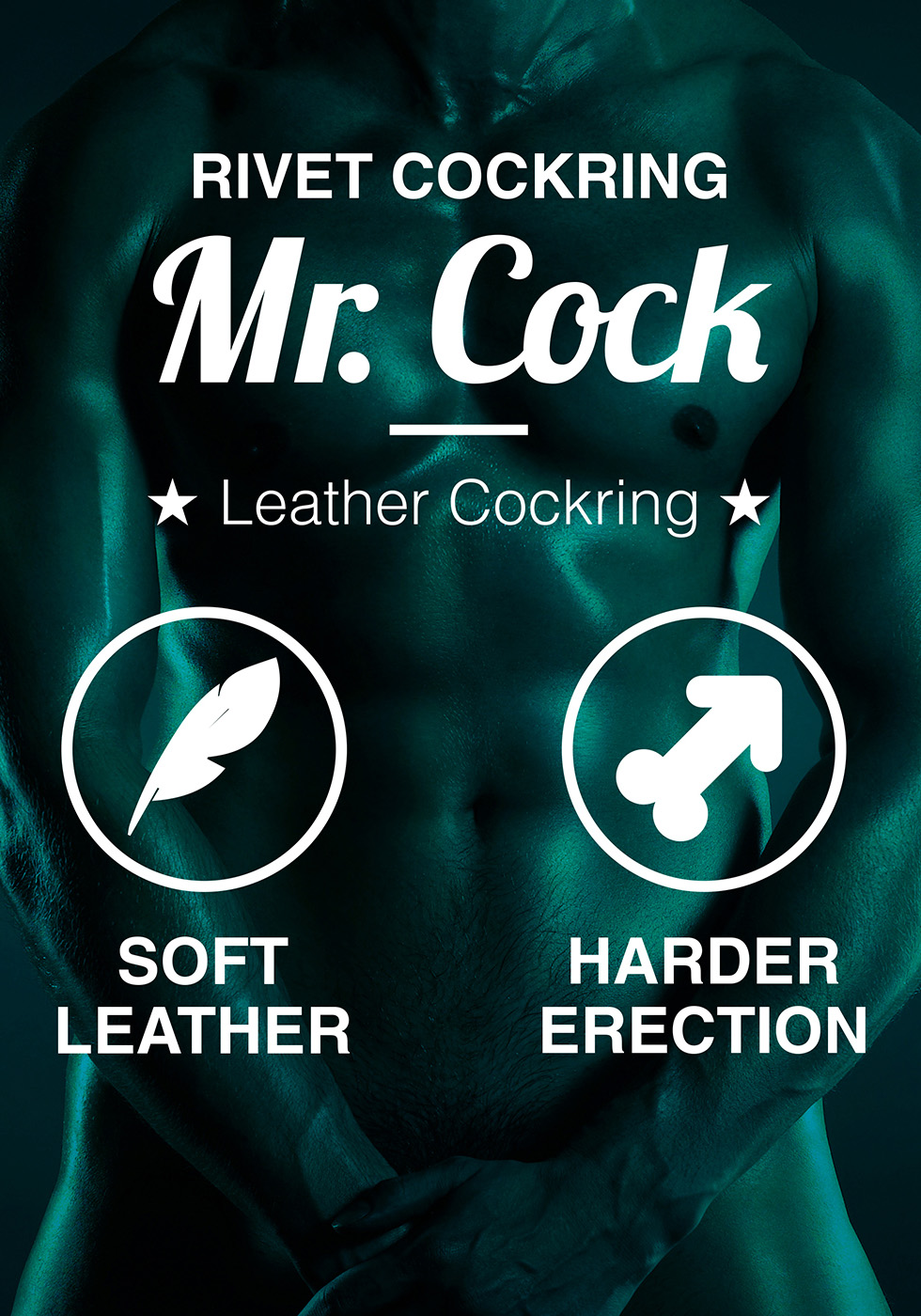 Mr. Cock Rivet Leather Cockring