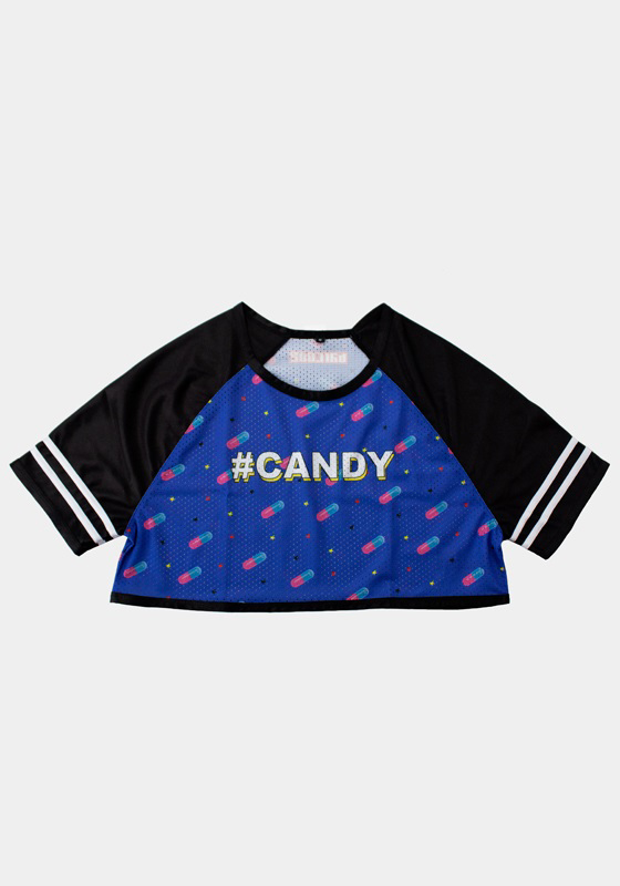 Barcode Berlin 91605 Crop Tee Candy