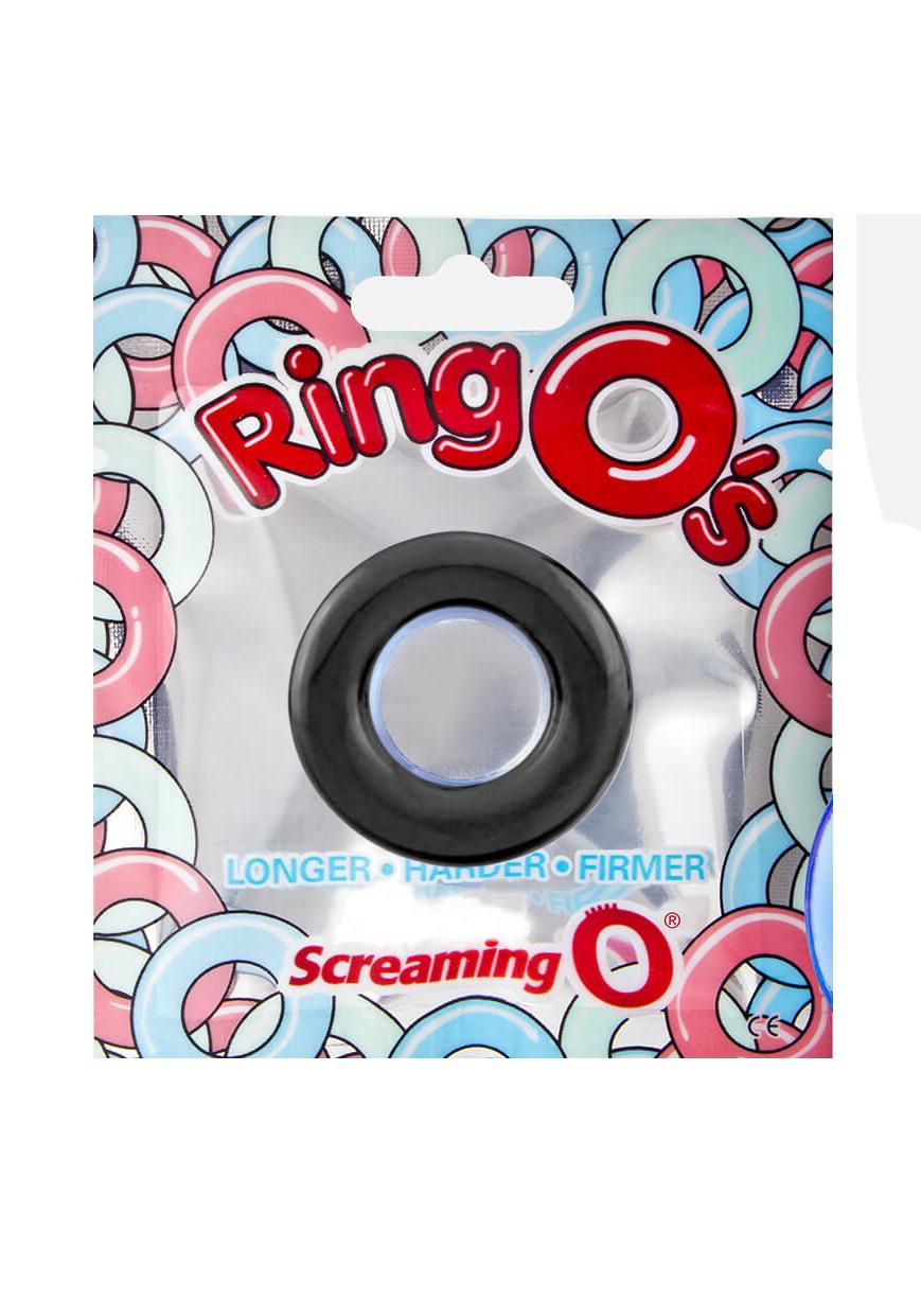 Screaming O RingO Cockring 1-Pack (black)