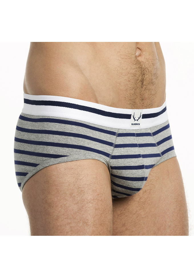 Bluebuck Nautical Stripes Brief