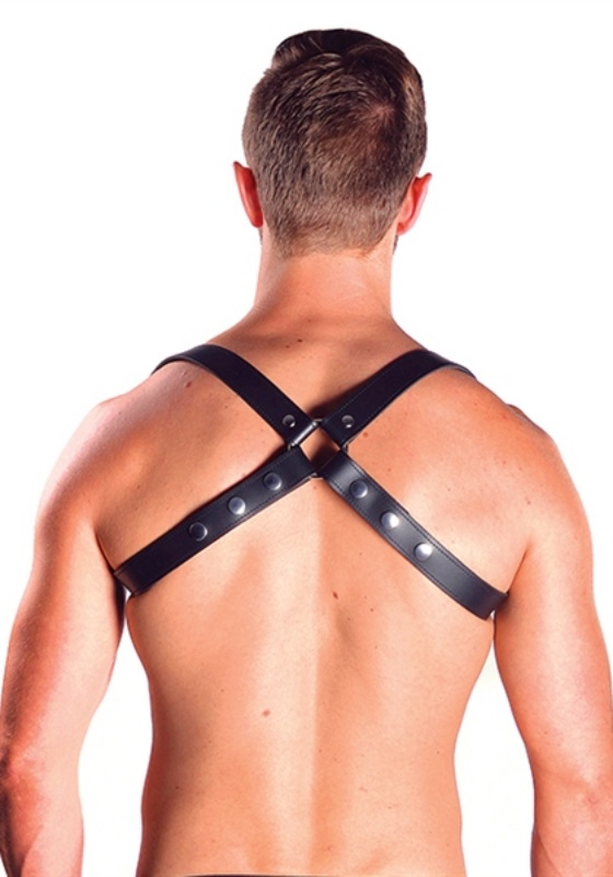 Mr. B black Leder Sling Harness