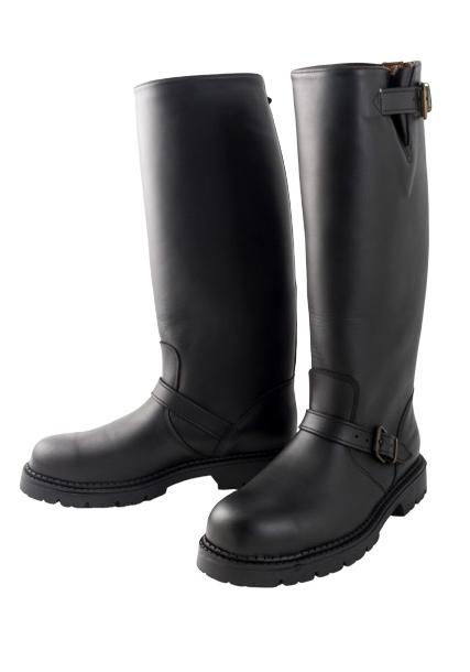 Mr. B Motor Boots Leder