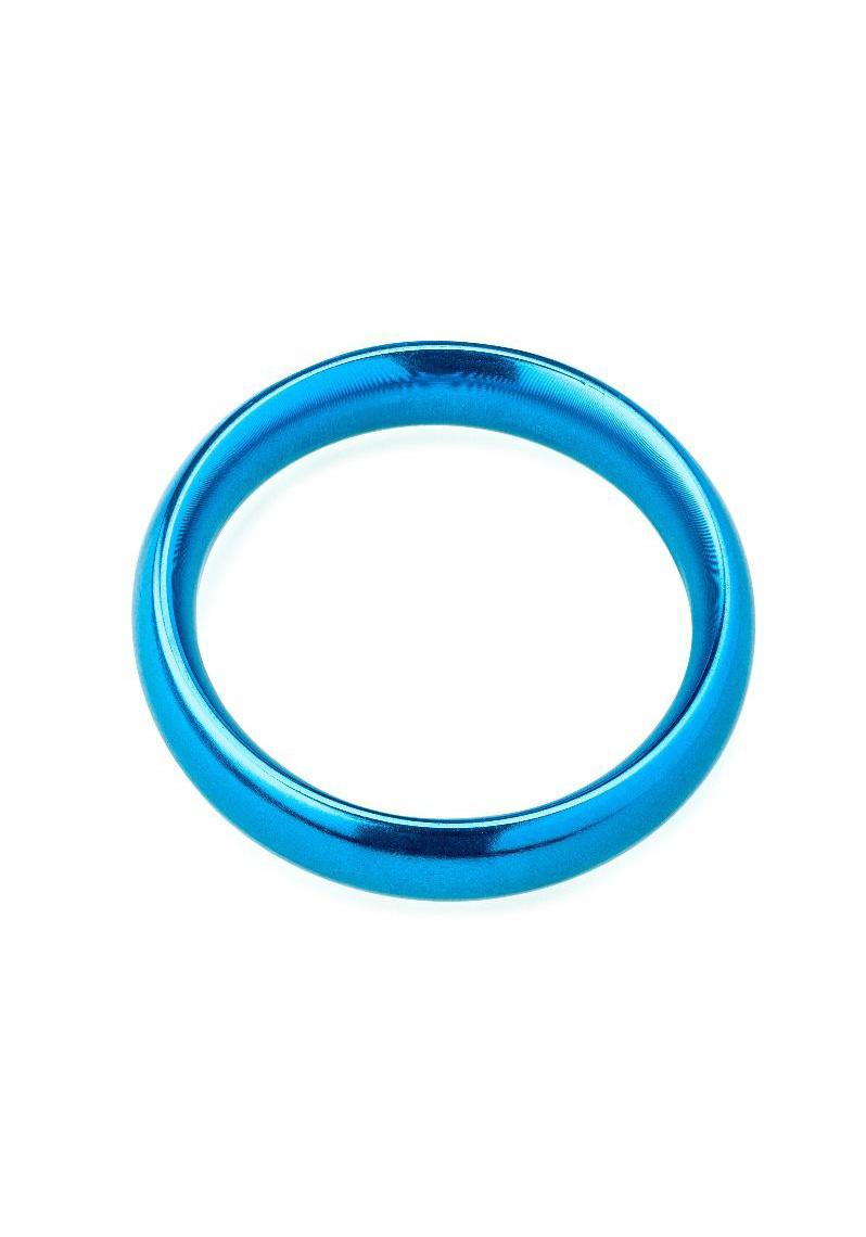 ZENN: Blue Cockring Ø 50 mm aus Aluminium