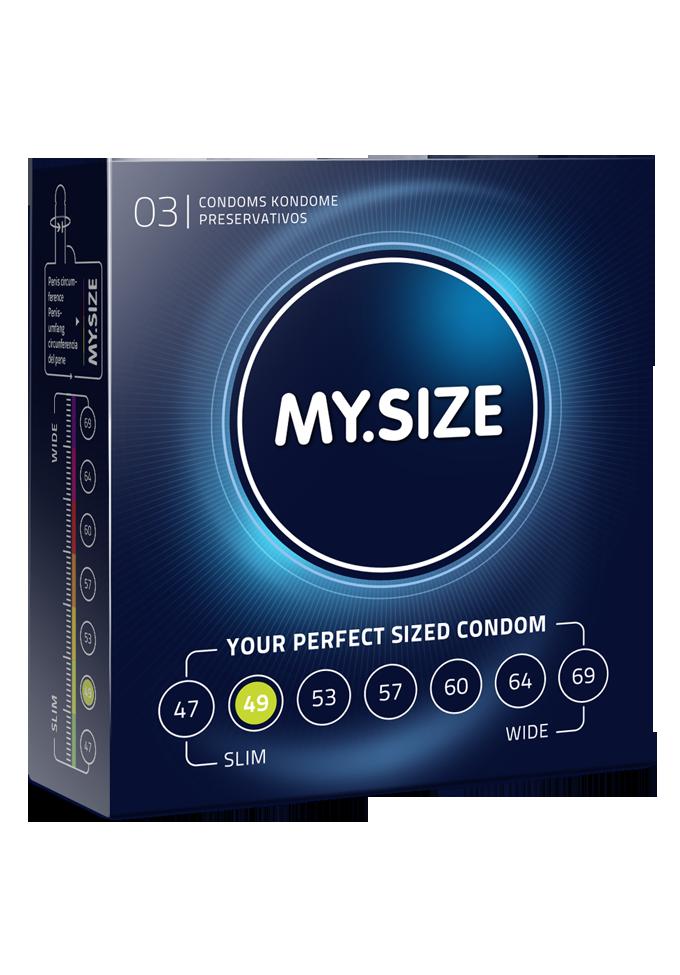 My.Size Kondome - Grösse 49