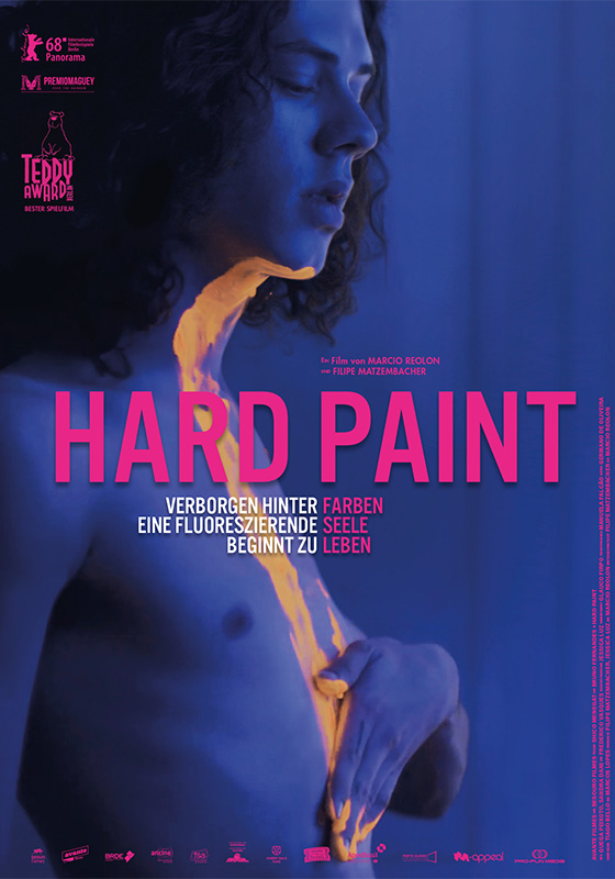 Hard Paint OmU (DVD)