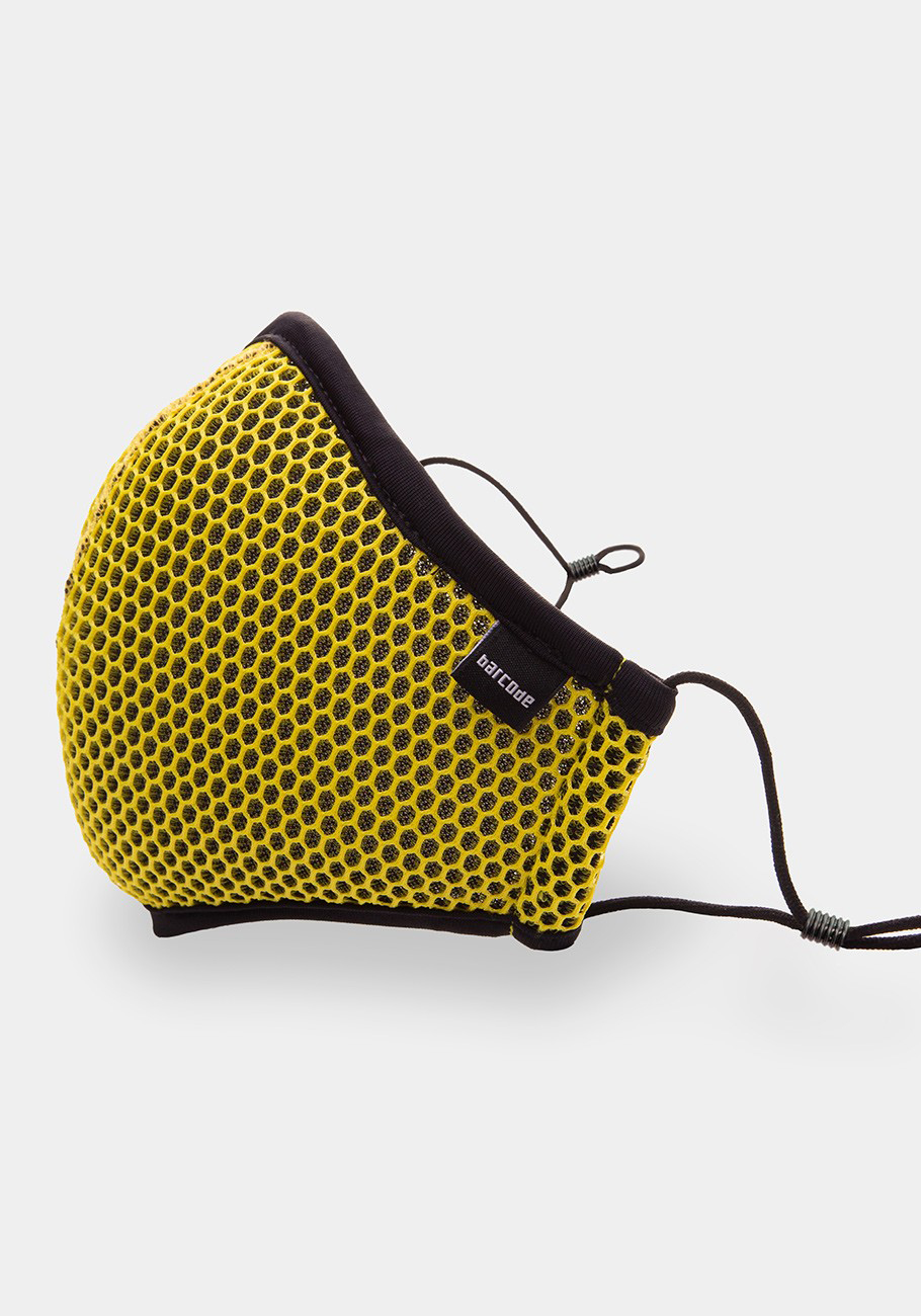 Barcode Berlin Mask General Wyatt | Yellow/Black