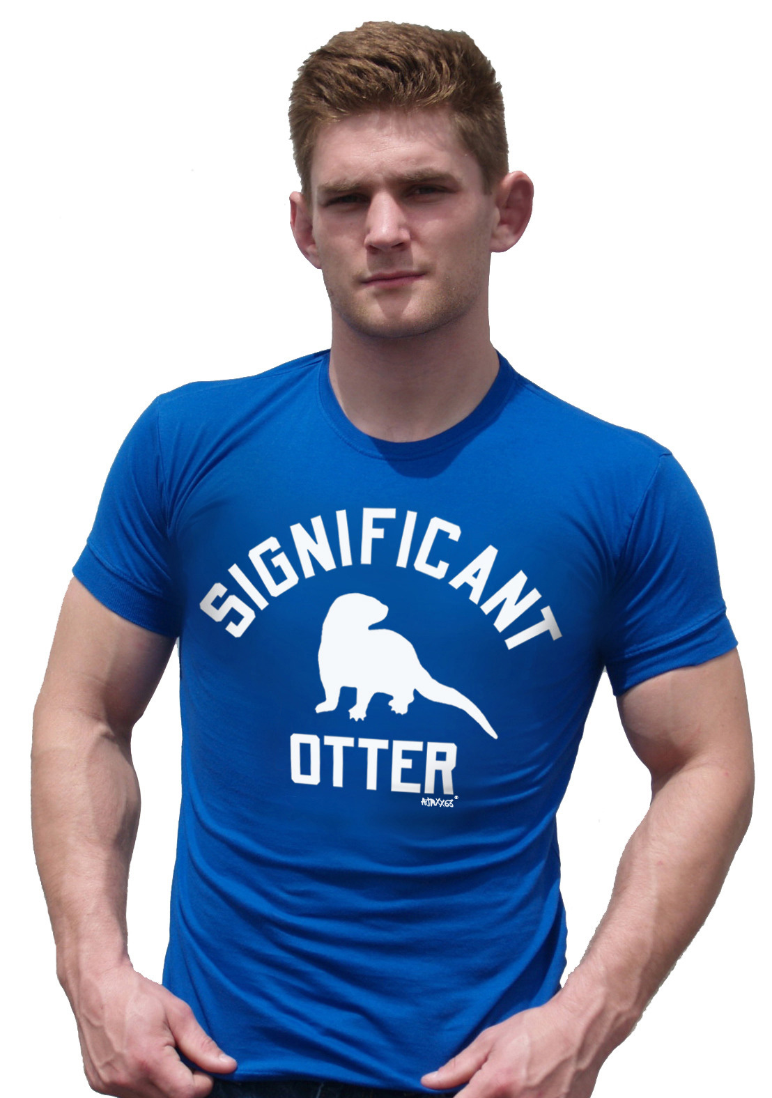 Ajaxx63 Athletic Significant Otter Shirt