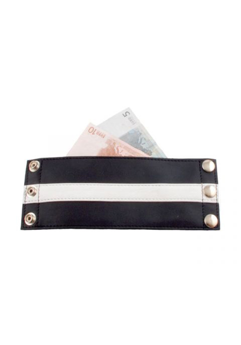 Mr. B Leder Wrist Wallet Zip