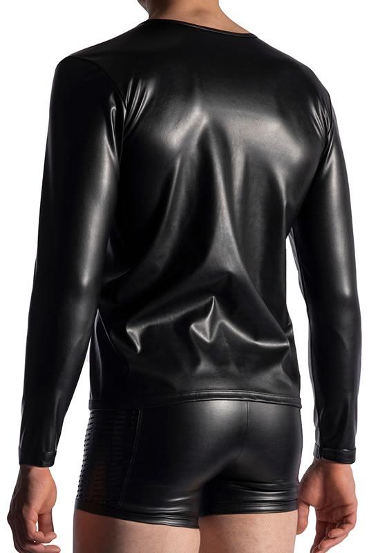 Manstore M953 black Zipped Longsleeves