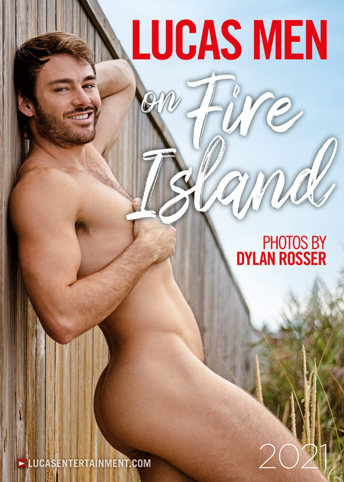 Lucas Men on Fire Island Kalender 2021