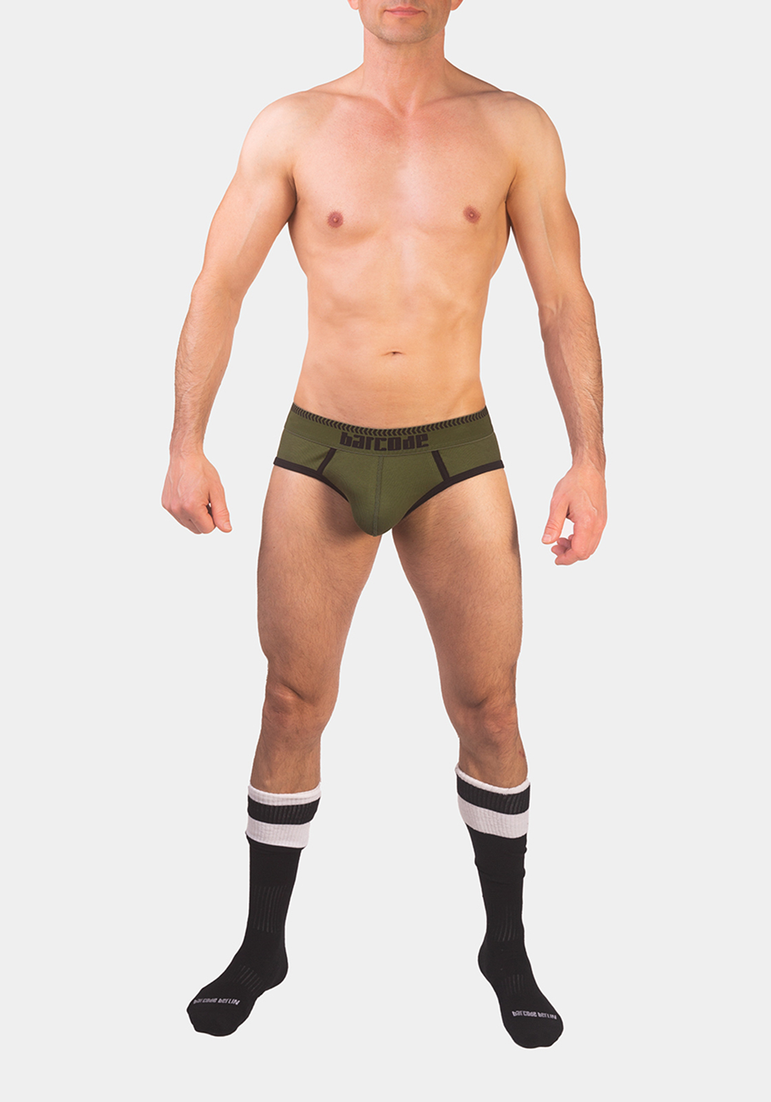 Barcode Berlin Brief Solger | Green|Black