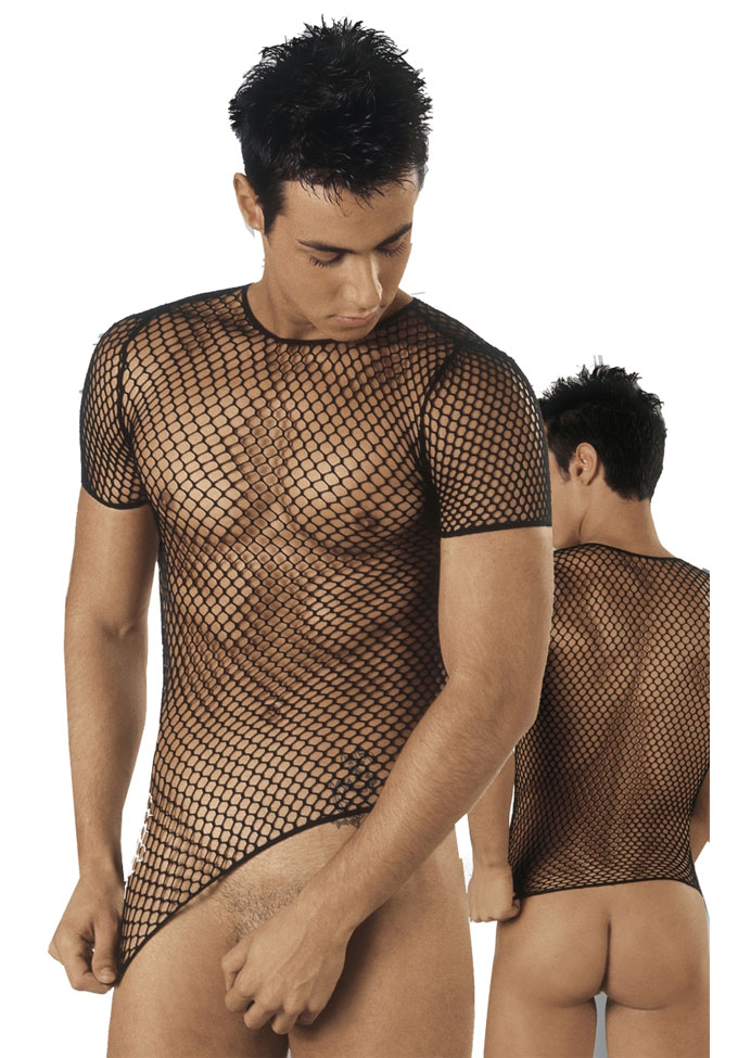 Eros Veneziani Netz Shirt