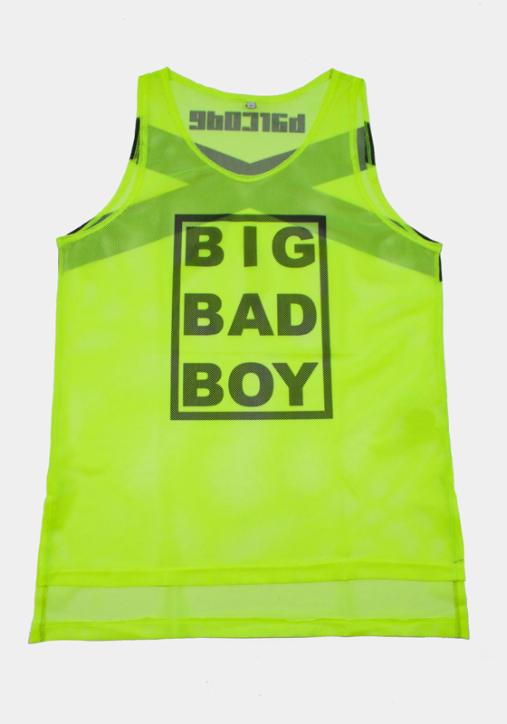 Barcode Berlin 91610 Tank Top Big Bad Boy