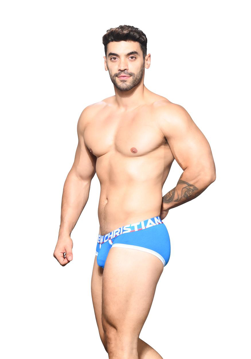 Andrew Christian CoolFlex Active Brief | Blue