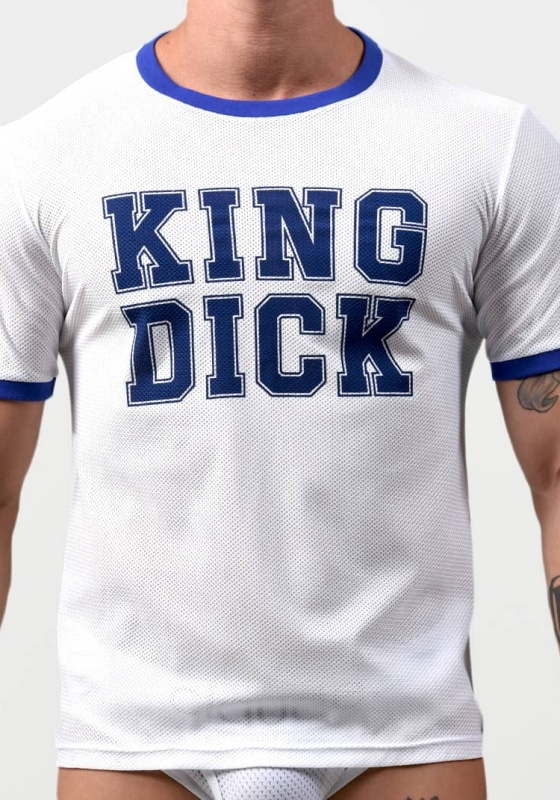 Project Claude PCC042 King Dick Mesh Tee Blue Trim