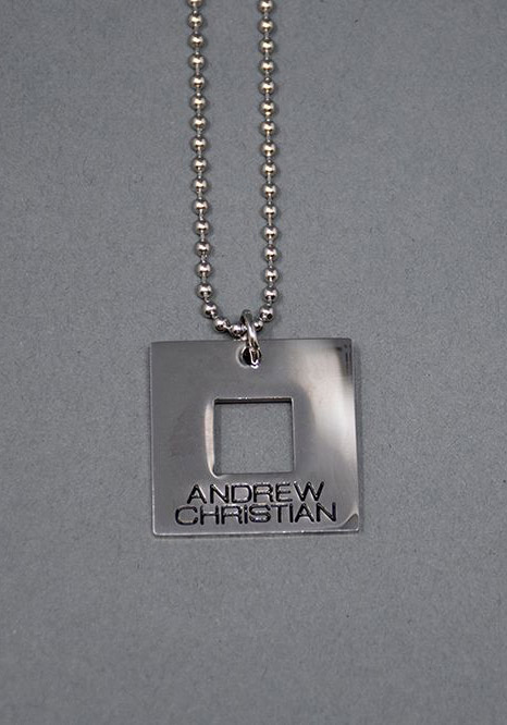 Andrew Christian Equality Pride Necklace - Kette mit Anhänger