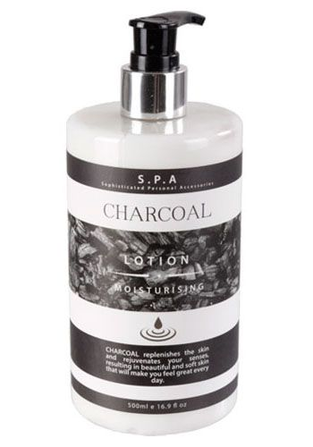 S.P.A. Body Lotion Charcoal 500 ml (= 1,79 €  / 100 ml)