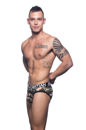 Andrew Christian Mesh Air Brief
