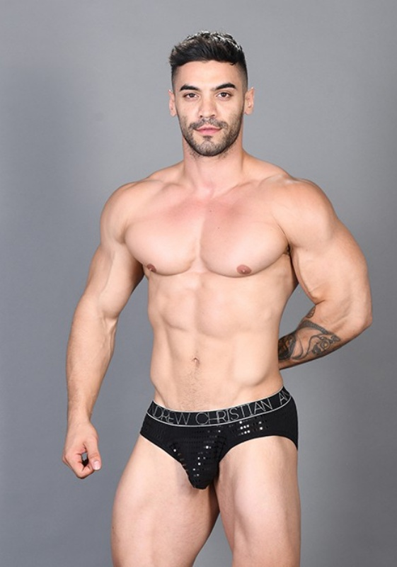 Andrew Christian Dazzle Brief Almost Naked