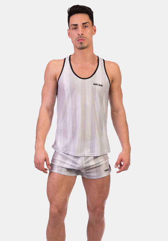 BC 91574 silver-black XL Tank Top Galvin