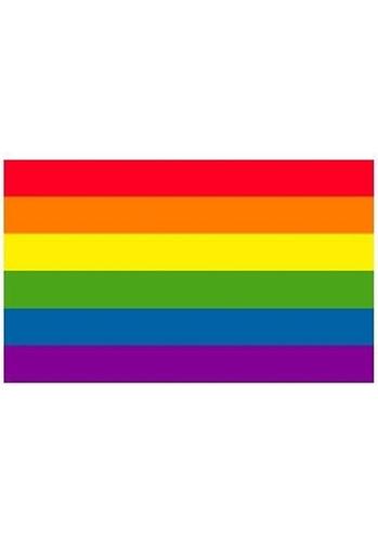 Regenbogen Flagge Aufkleber