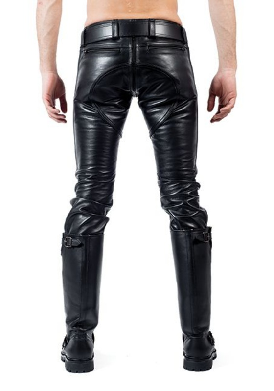 Mr. B: Leder FXXXer Jeans
