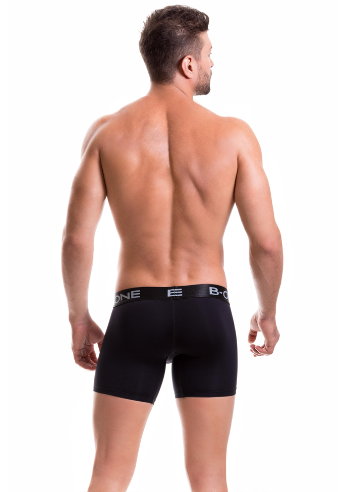 B-ONE 0003-1 black S Long Boxer Classic