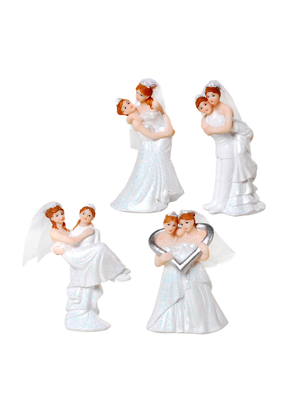 Hochzeitspaar Frauen klein