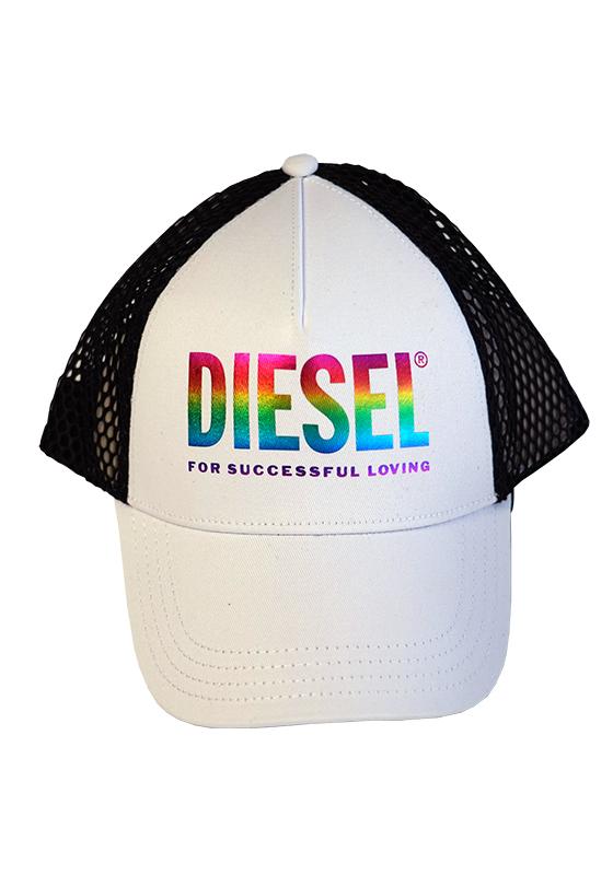 Diesel white Basecap 2020