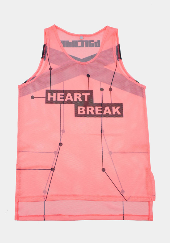Barcode Berlin 91611 Tank Top Heartbreak