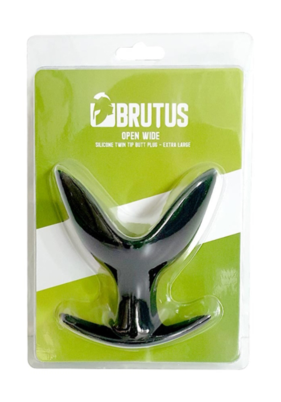 Brutus: Open Wide Silicone Twin Tip Butt Plug XL