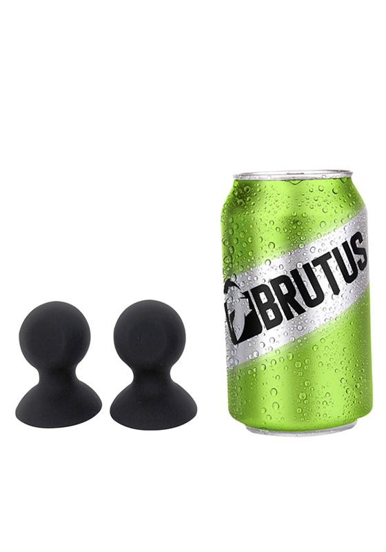 Brutus: Nip Pull Silicone Nipple Suckers - M