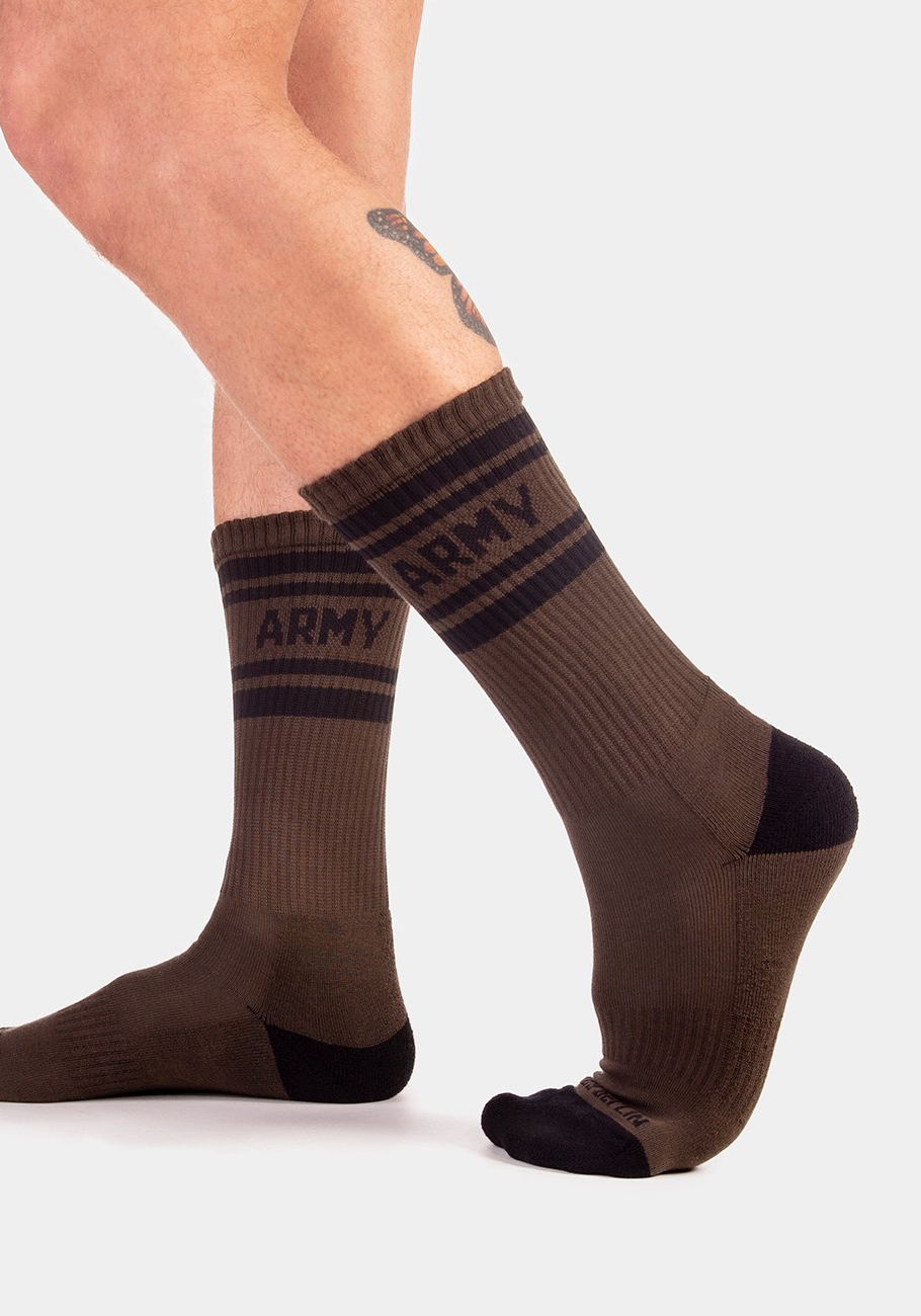 Barcode Berlin Camp Socks Army