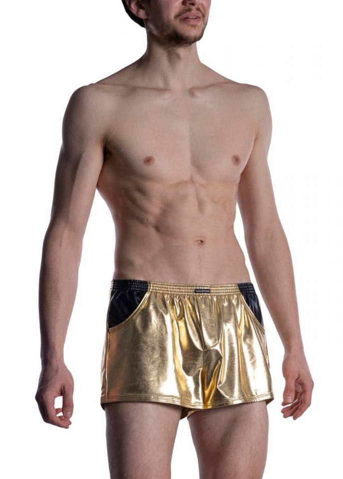 MANSTORE Grope Shorts | Gold
