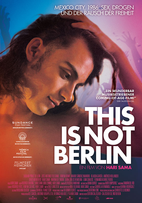 This Is Not Berlin - span. OmU (DVD)