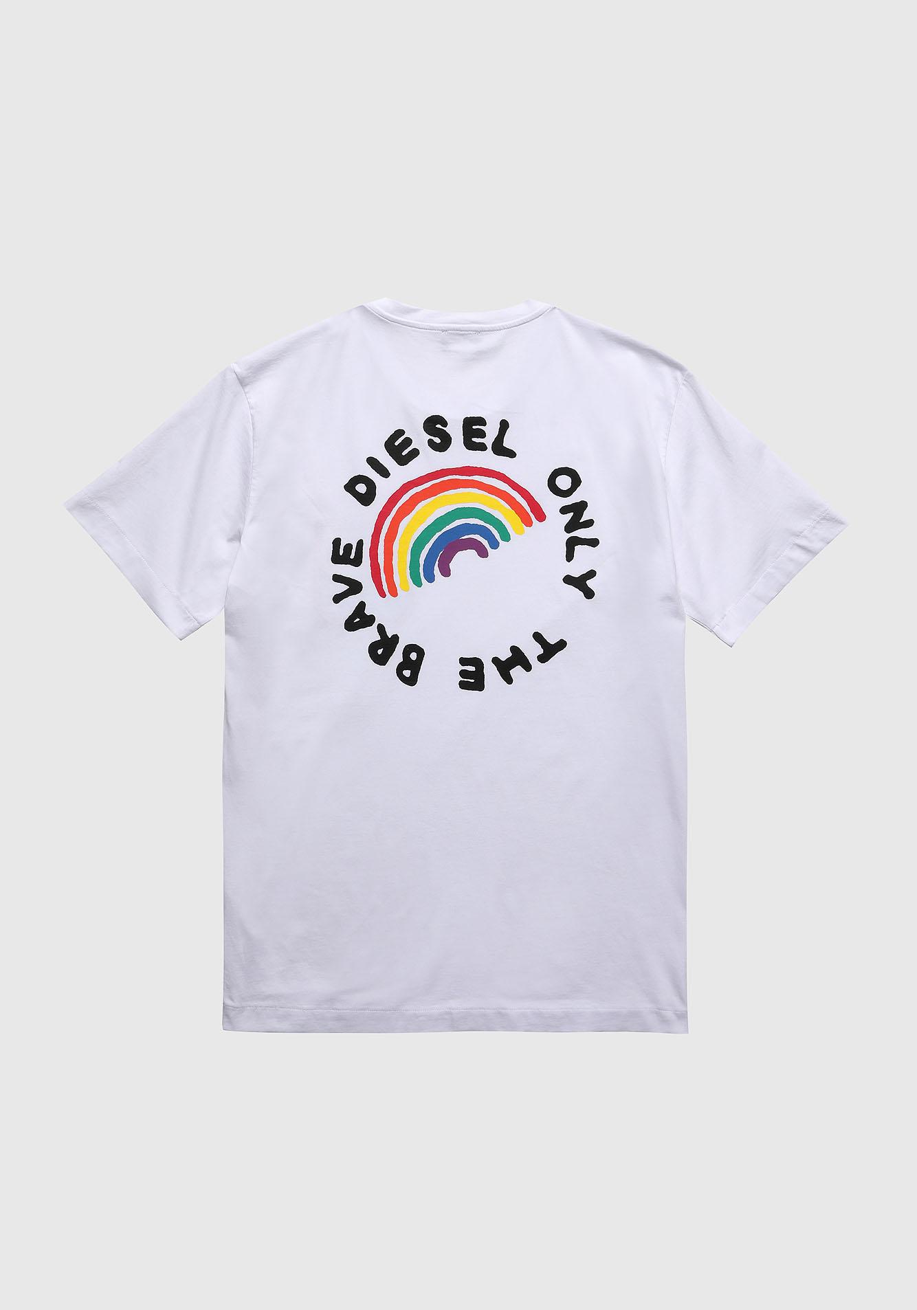 Diesel Pride Shirt DIEGO White