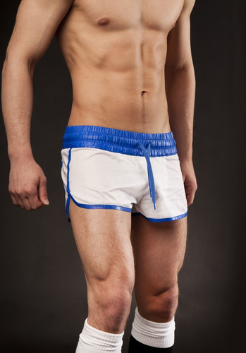 Barcode Berlin Athletic Shinie Short blue/white S