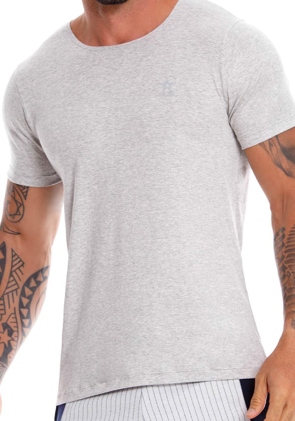 JOR T-Shirt Cross | Grey