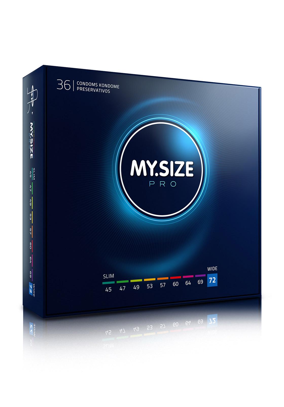 My.Size Pro Kondome 72 (36er)