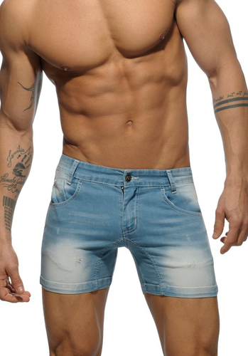 Addicted 530 Short Jeans | Sky