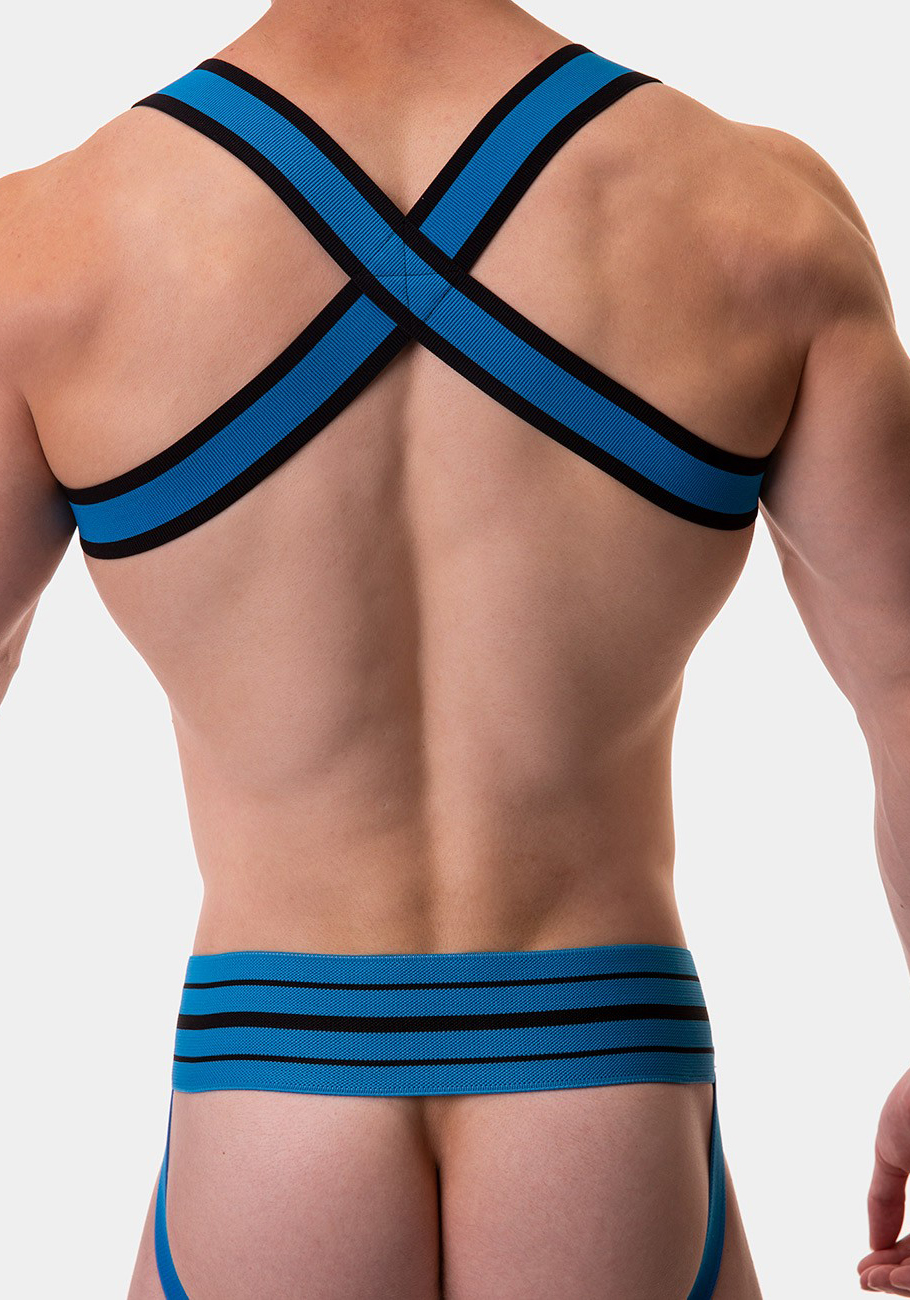 Barcode Berlin Harness Colin | Blue/Black