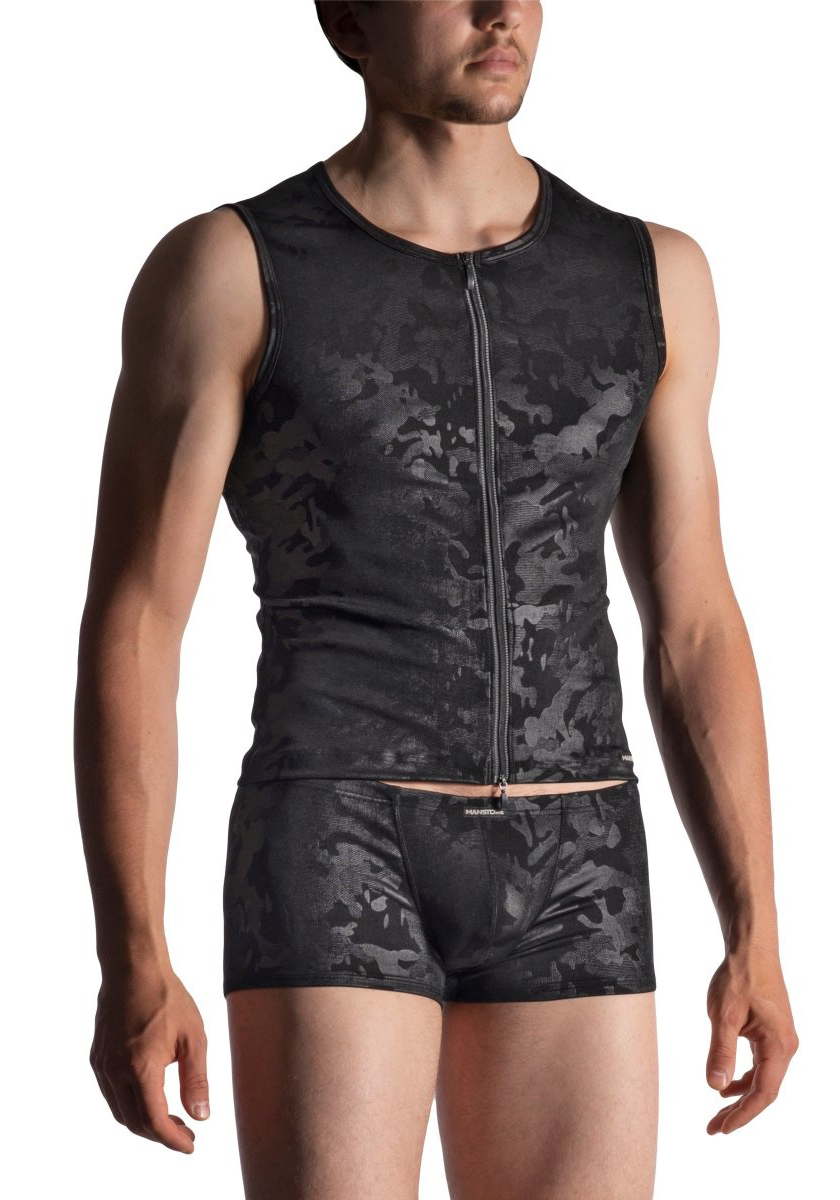 MANSTORE M950 Zipped Vest
