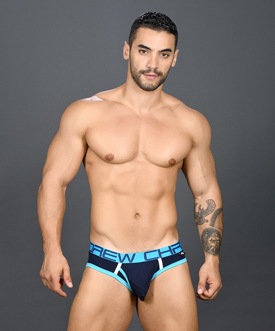 Andrew Christian 91090 Fly Tagless Brief Almost Naked