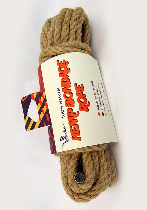 Voodoo Hemp Bondage Rope / Seil 5 m