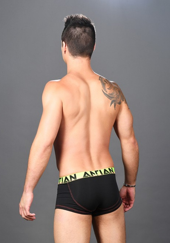 Andrew Christian Black CoolFlex Boxer Show-It