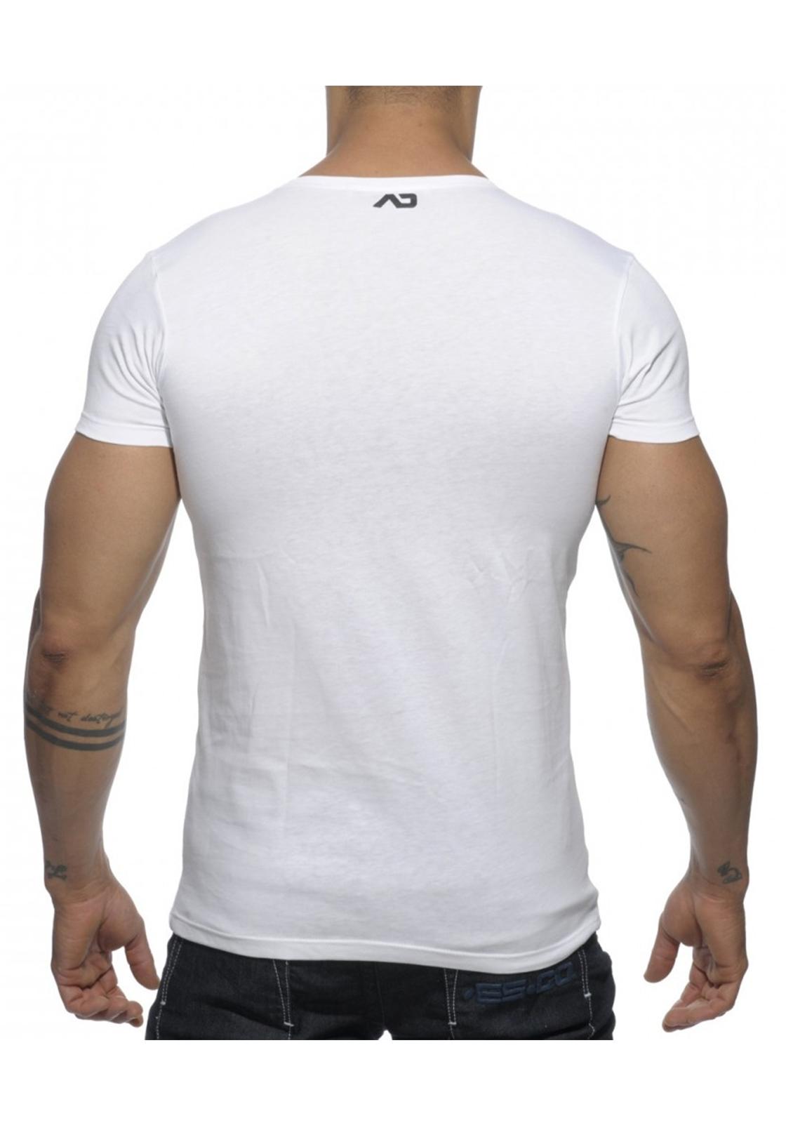 Addicted Bear T-Shirt | White