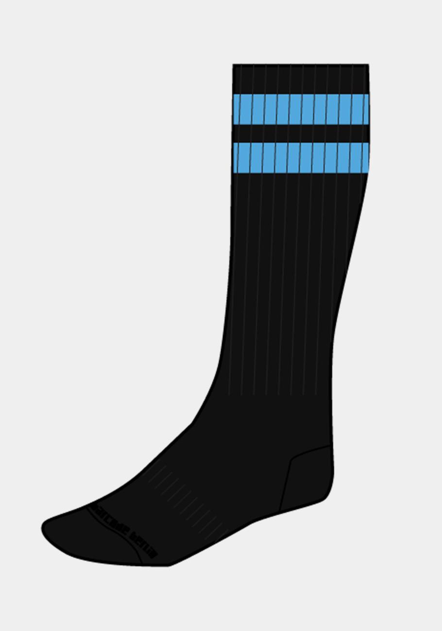 Barcode Berlin Gym Socks | Black/Blue